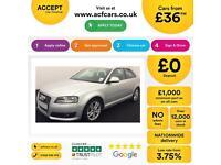 Audi A3 SPORT FROM £36 PER WEEK!