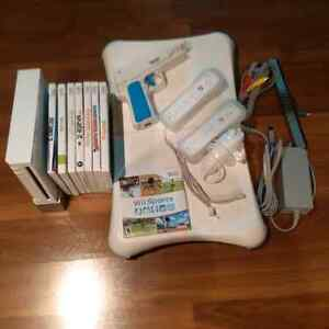 Wii Console with Accessories Plus Wii Balance Board and Games Kitchener / Waterloo Kitchener Area image 2