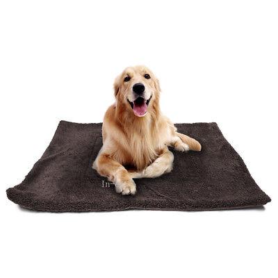 Warm Waterproof Pet Blanket Large Cat Dog Kennel Bed Mat Cushion Fleece Cage Mat