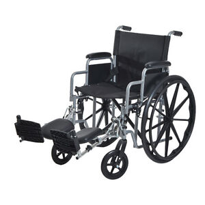 Foldable Wheelchair Lightweight Self Transport Chair Desk-length