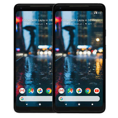 Google Pixel 2 XL 64GB 128GB Factory Unlocked (CDMA+GSM) T-mobile, AT&T, Verizon