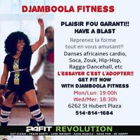 Djamboola Fitness with Mé