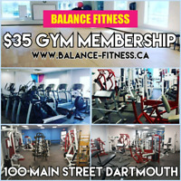$35 a MONTH GYM MEMBERSHIP! No contracts