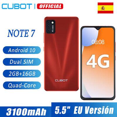 Nuevos CUBOT NOTE 7 4G Dual SIM Smartphones 2GB+16GB Telefonos moviles libres...