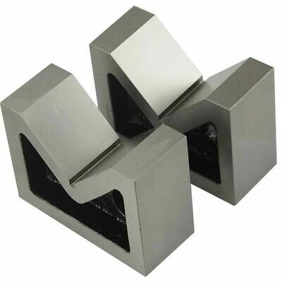 Cast Iron Vee Block Set Of 2 Pieces 3 X 1-14 X 2-14 Inch V Block Without Clamp