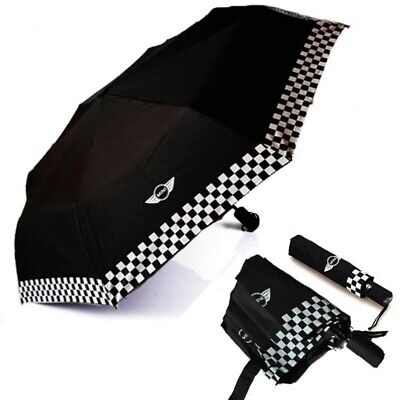 1X Fully-automatic umbrella in black with BMW Mini logo..