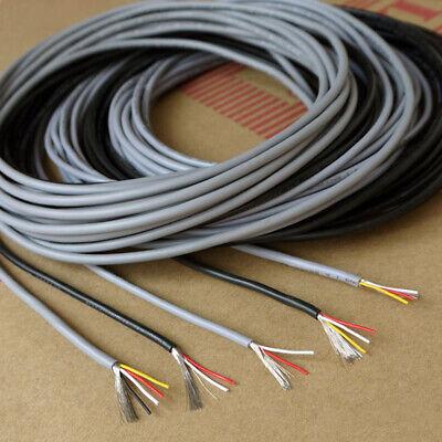 Flexible 234 Multicore Cable Shielded Wire 24-28awg Audio Signal Auto Data Car