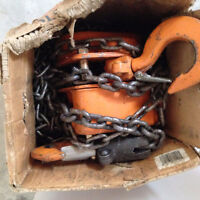 GOOD CONDITION CHAIN HOIST