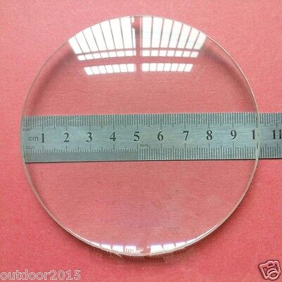 100mm Large Diameter Double Convex Lens Optical Glass Focal Length Lens 300mm