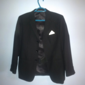 Black Suit Ensemble for Boys