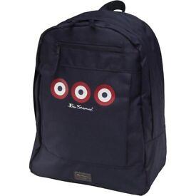 Ben Sherman Boys Zip Backpack Navy