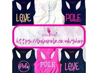 Online Pole Fitness Apparel Store - Lovingly made in Reading, Berkshire