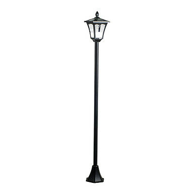 "65"" Street Vintage Outdoor Garden Leds Bulb Solar Lamp Post Light Lawn - Adjusta"