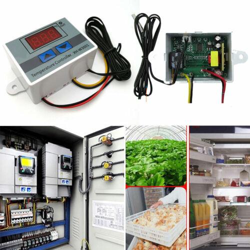 AC 220 V Digitaturregler Thermostat LED Control Temperatur Regler Kit