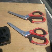 TWO PAIR OF MILWAUKEE H/D SCISSORS IN NEW CONDITION