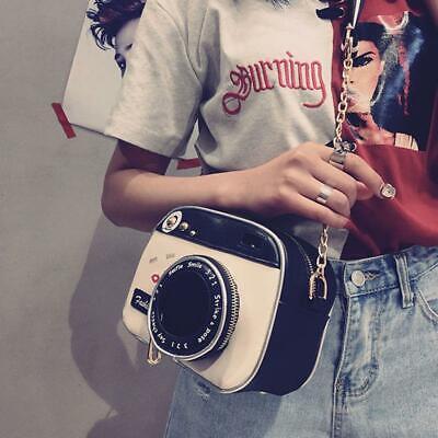 Women Camera Shape Style Messenger Crossbody Shoulder Bag Handbag Purse T Messenger Style Camera Bag