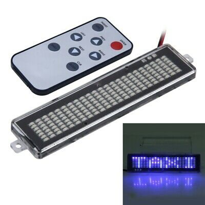Dc 12v Car Led Programmable Sign Display Lighting Board With Remote Control