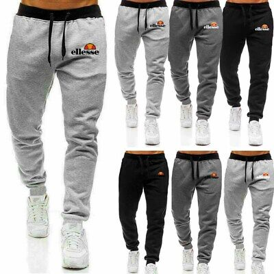 Men's Joggers Track Pants Sports Trousers Casual Sweatpants Gym Fitness Bottoms