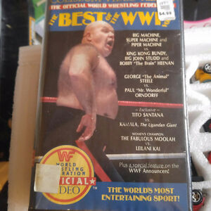 Vintage The Best of the WWF Vol. 12 VHS Coliseum Video