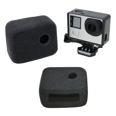 Wind Noise Reduction Sponge Cover Frame For Gopro Hero 4/3+/3 Camera Accessories