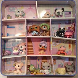 Littlest Pet Shop Collector's Edition Tin Rare 2006 & 13* PETS