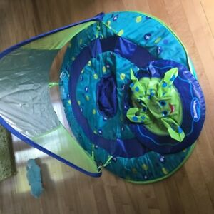 baby/infant sun shade float
