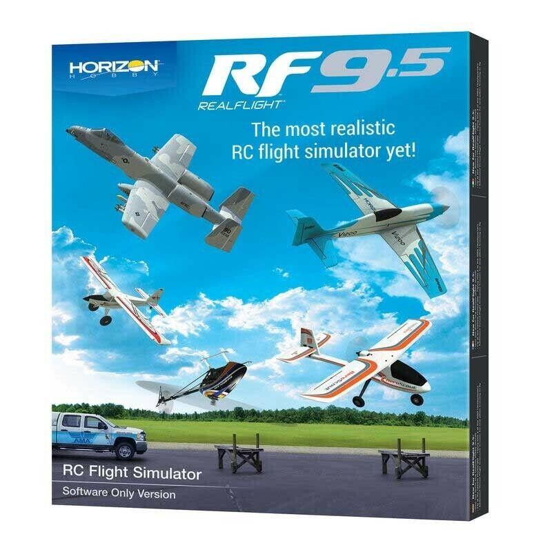 RealFlight 9.5 Flight Simulator Software Only RFL1201 - FREE SHIPPING