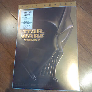 Star Wars Trilogy Brand New IV V VI DVD full screen Cambridge Kitchener Area image 1