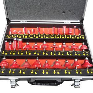 35pc Tungsten Carbide Router Bit Set 12.7mm 1/2