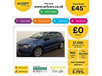 Volkswagen Polo 1.4 TSI ( 140ps ) ACT DSG 2013MY BlueGT FROM £45 PER WEEK!