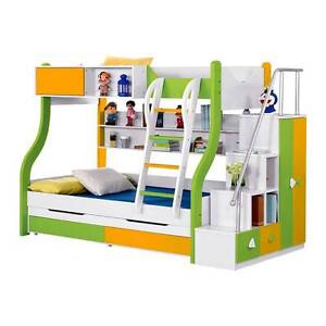 Modern Desigh Bunk Beds With Storage Campbellfield Hume Area Preview