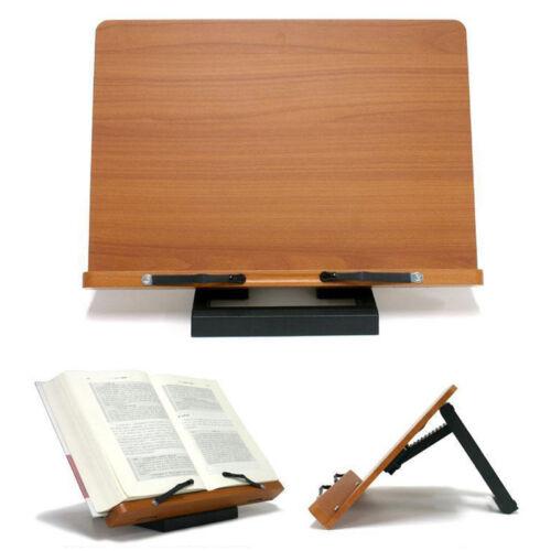 [Jasmine] Book Stand Bible Wooden Reading Holder Desk Bookstand Wiztem