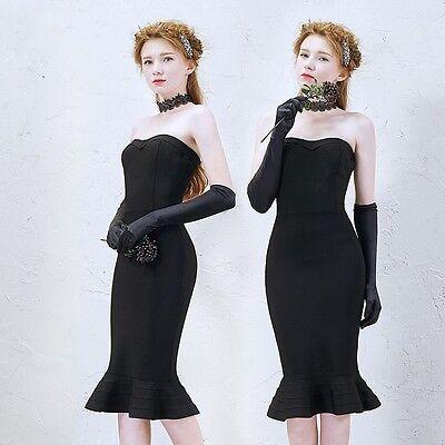 Vintage Elegance Solid Gloves Prom Stretch Halloween Satin Opera Evening - Halloween Parties Elegant Evening Party