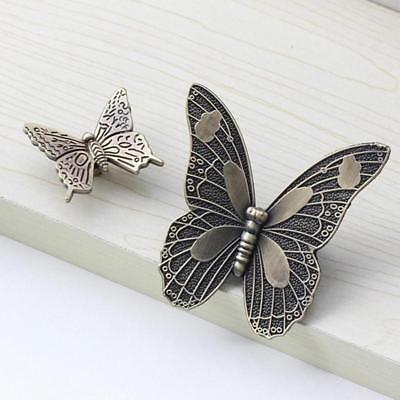Butterfly Cabinet Knob - Antique Style Butterfly Cabinet Knob Cupboard Handle Kitchen Drawer Pull knob Y