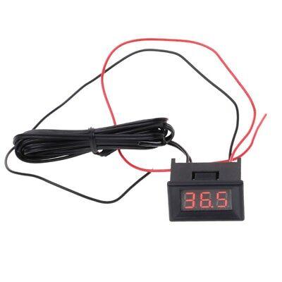 Led Digital Thermometer Car Probe Fridge Freezer Temperature -40120c Degree Diy