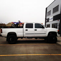 2006 GMC Sierra 2500HD SLT LBZ Duramax Lifted