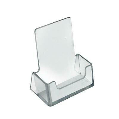 Vertical Business Card Holder Acrylic - 2.5w X 1.5d X 2.75h