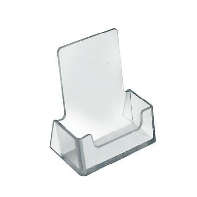 Vertical Business Card Holder Acrylic - 2.5w X 1.5d X 2.75h
