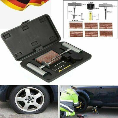 37tlg. PKW Reifenreperaturset Flickzeug Reifen Reparatur Flicken Reifenreparatur