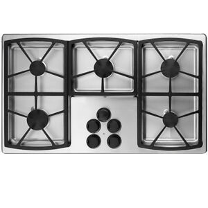 "DACOR 36"" Gas Cooktop, Stainless Steel, Natural Gas"