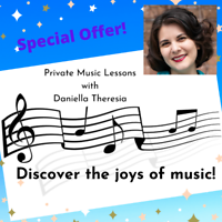 Discover the joys of music! - Online or In-Home Music Lessons
