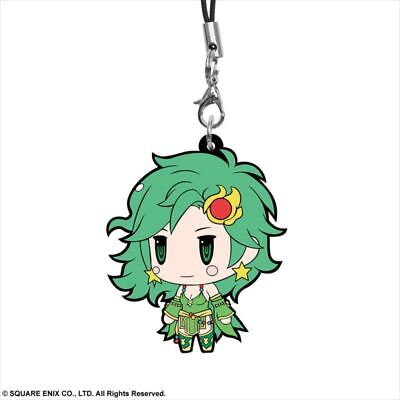 Square Enix Trading Rubber Strap Vol. 8 Cellphone Charm Final Fantasy IV 4 Rydia