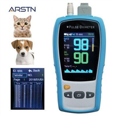 2.8tft Lcd Veterinary Handheld Pulse Oximeter Spo2prtemp