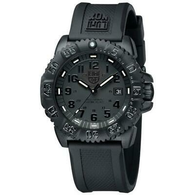 Luminox Watch Navy Seal Men's Swiss Colormark Blackout 3051.BO AUTHORIZED DEALER