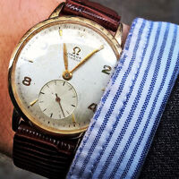 1946/late 1940s Omega mens wristwatch - Gold filled