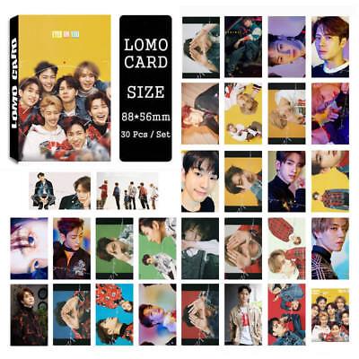 30pcs /set Cute KPOP GOT7 Album EYES ON YOU Photo Card Poster Lomo Cards