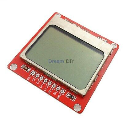New 84x48 Lcd Display Screen Module Adapter Pcb Board For Nokia 5110 Arduino
