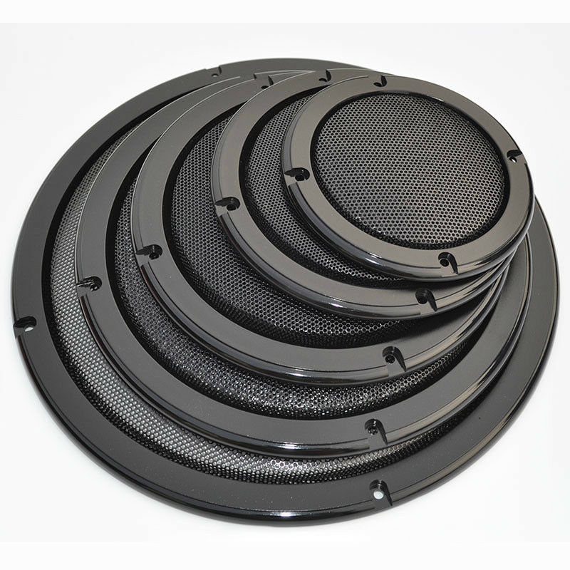 """1pcs 1# 2/"""" 4/"""" 5/"""" 6.5/"""" 8/"""" 10/"""" Inch Speaker Grill Horn Decoration Protective Cover"""