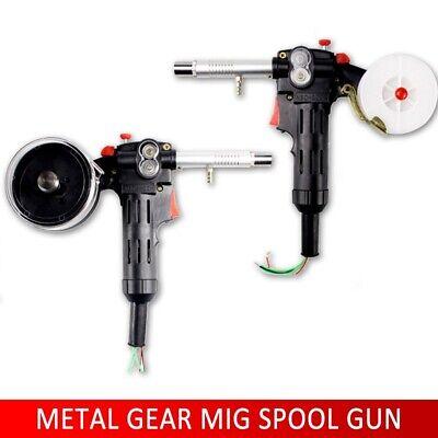 No Cable Welding Torch 24v Dc Aluminum Welder Gun Spool Gun Push Pull Feeder Gd
