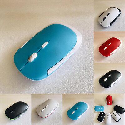 Portable Wireless Notebook (Wireless 2.4G Portable Gaming Optical Mouse Desktop Notebook Laptop - 6 Buttons)
